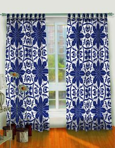 Curtain Window Curtains 2 Pcs 42x84 Moroccan Medallion bedroom curtains