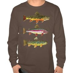 Trout Fishing T Shirt