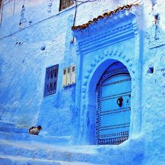 Blue Chefchaouen | Morocco (by travelingcolors)