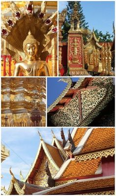 Wat Phra That Doi Suthep - Chiang Mai, Thailand #travel #temple #thailand