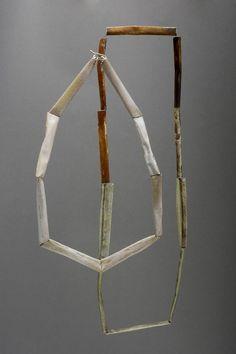 ANN LITTLE-UK - enamel necklaces