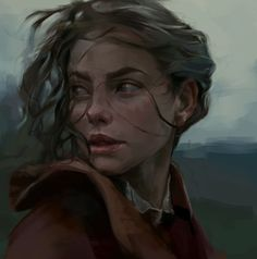Digital Painting Inspiration – New Trends Character Portraits, Character Art, Painting Inspiration, Art Inspo, Art Sketches, Art Drawings, Drawing Faces, Drawing Art, Character Design Animation