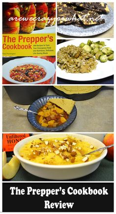 A look at Tess Pennington's Prepper's Cookbook. See how a few of the recipes came out when I tried them. #beselfreliant