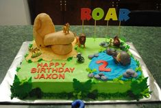 Lion Guard birthday cake #lionguard #birthdaycake #2ndbirthday #priderock
