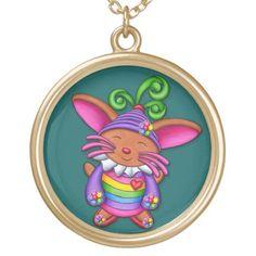 Nano Bun - Happy Bunny Gold Plated Necklace Gold Plated Necklace, Black Felt, Valentine's Day Diy, Diy Costumes, Fashion Handbags, Aqua Blue, Halloween Diy, Art Pieces, Plating