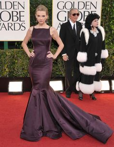 The 2013 Golden Globes Red Carpet - Gown by Donna Karen Atelier