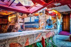 Garden Room Detail @wrighttaliesin #scottsdale #arizona #taliesinwest #franklloydwright