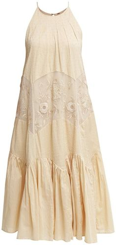 This dress would be great in a mori girl outfit! -Free People More