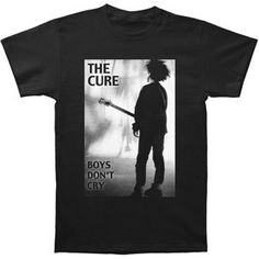 Cure Black White Picture T-shirt for only $23.25
