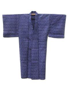 Fuji Kimono #FathersDay gift idea No.5 ☆ 'Star Wars' - Men's #vintage #Japanese #cotton #yukata #kimono with a geometric pattern - http://www.fujikimono.co.uk/mens-kimono/star-wars.html