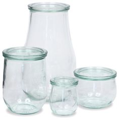 Tulip Jars - traditional - food containers and storage - other metro - Weck Jars