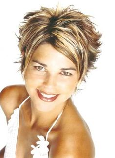 Cute New Short Hairstyles | more little spikes.... Short Haircut for Women by kenya
