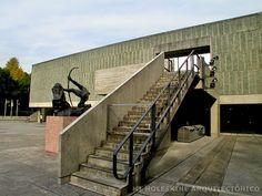 Mi Moleskine Arquitectónico: LE CORBUSIER: MUSEO DE ARTE EN TOKIO