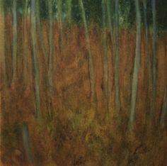 Autumn Woods, by Ellen LoCicero Acrylic on Paper