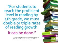 """Carol E. Canady and Robert Lynn Canady, """"Catching Readers Up Before They Fail,"""" Educational Leadership, Summer 2012 Educational Leadership Quotes, Leadership Activities, Leadership Goals, School Leadership, Administrative Professional Day, School Days, School Stuff, 21st Century Learning, Teacher Notes"""