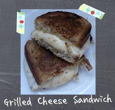 Sandwich de Queso a la Plancha