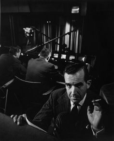 Arnold Newman - Edward R. Murrow, New York, NY (1951)