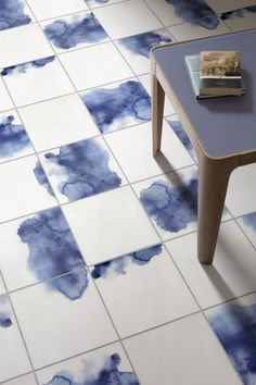 Watercolour Tile Vinyl Flooring – Alto