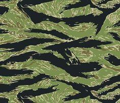 vietnam Camouflage Pattern | Tigerstripe_original_shop_preview