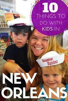 10 Things To Do With Kids In New Orleans, USA. Includes Steamboat Natchez, Audubon Aquarium of the Americas, Storyland & Amusement Park, Audubon Butterfly Garden and Insectarium, Louisiana Children's Museum and more. TRAVEL WITH BENDER | Family Travel made easy in New Orleans, United States of America.