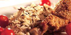 Kurczak w sezamie i miodzie Grains, Seeds, Korn