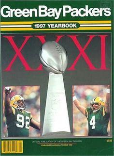 Reggie White and Brett Favre - Packers Yearbook) c510ebae6