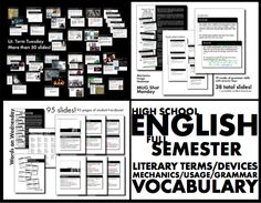Launch your English class the right way each day with this MASSIVE bundle of my popular bell-ringer mini-lessons to teach the Common Core-aligned skills your students need. TONS of helpful, visually dynamic materials.