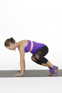 We love how this one exercise move makes our abs and arms burn in the best way possible.We love how