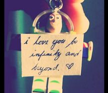 I love you, to infinity and beyond, toy story. Resolution: 500x500 px. Find the picture to your taste!