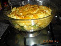 Ovenschotel Broccoli Met Kipfilet En Aardappelschijfjes recept | Smulweb.nl