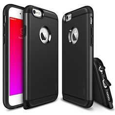 iPhone 6 Plus / 6S Plus Case, Ringke MAX [Free HD Film / Heavy Duty & Tear Resistant][BLACK] Dual Layer Strength Resistant Slim Armor Protective Case for Apple iPhone 6S Plus (2015) / 6 Plus (2014) Ringke http://www.amazon.com/dp/B00NHYMVVC/ref=cm_sw_r_pi_dp_nTvkwb1EFCMQ3