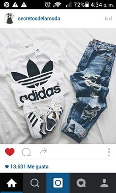 0c044d6d000e0 adidas, outfit, and jeans resmi ADIDAS Women s Shoes - Clothing, Shoes    Jewelry   Women adidas women shoes