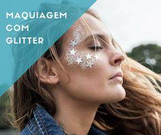 Inspirações e ideias de maquiagens com glitter e muito brilho para cair na folia e aproveitar o carnaval. Confira e arrase na produção!