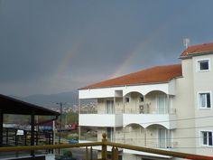 Two rainbows...