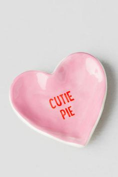 Cutie Pie Heart Trinket Dish