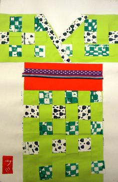 For the Love of Art: 4th Grade: Japanese Woven Kimonos