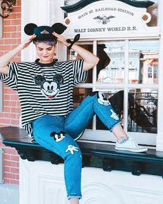 Oh Mickey, you're so fine. Walt Disney World // Disney Style // Disney Tee // Disney Outfit // Wear to Disney Oh Mickey, you're so fine. Walt Disney World // Disney Style // Disney Tee // Disney Outfit // Wear to Disney Disney World Outfits, Walt Disney World, Disney T-shirts, Disney Parks, Cute Disney Outfits, Disney Inspired Outfits, Disney Tees, Themed Outfits, Disney Style