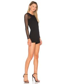 Buy BCBGeneration Women's Black Sheer Romper, starting at $106. Similar products also available. SALE now on!