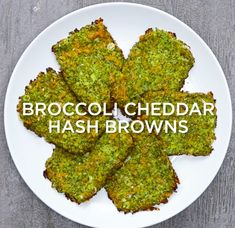 Veggie Hash Browns 4 Ways - Broccoli Cheddar Hash Browns Veggie Hash Browns 4 Ways - Milk Recipes, Low Carb Recipes, Vegetarian Recipes, Cooking Recipes, Healthy Recipes, Healthy Foods, Cooking Tips, Healthy Eats, Bread Recipes