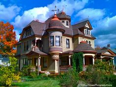 amazing old victorian houses pictures | Best Architecture in California? (Pasadena, Monrovia: square, nearby ...