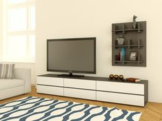 Allure 2 Drawer TV Stand