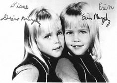OMG I never knew there were twins playing the role! I always thought it was just Erin!  Erin-and-Diane-Murphy-Tabatha on Bewitched