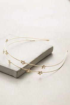 Pearled Starlight Headband - #anthrofave