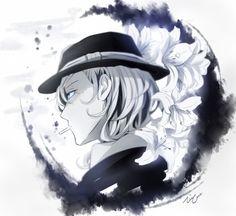 Beautiful Chuuya Nakahara art from tumblr | BSD