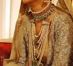 Stunning wedding jewelry.