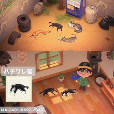Animal Crossing Cats, Animal Crossing Guide, Animal Crossing Qr Codes Clothes, Film Manga, Gato Animal, Ac New Leaf, Motifs Animal, Minecraft, Game Design