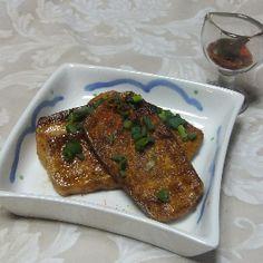 豆腐のホットオードブル メープルソースのレシピ、作り方(小林 素子)   料理教室検索サイト「クスパ」