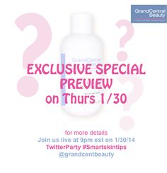 Our #NewProduct is ALMOST HERE -Details TONIGHT at #TwitterParty 9pm est Use #SmartSkinTips #Winners #Prizes #Beauty