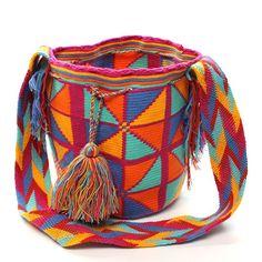 Triangles Wayuu Mochila