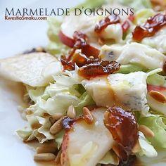 Marmolada cebulowa Onion Jam, Potato Salad, Salsa, Cabbage, Potatoes, Homemade, Vegetables, Ethnic Recipes, Food
